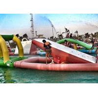 Wholesale Family Water Parks For Fun , Summer Waves Inflatable Water Park For Kids / Adult from china suppliers