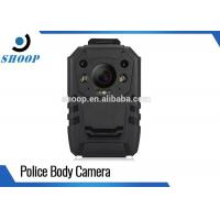 Quality GPS Small Police Body Cameras , Waterproof Police Officers Wearing Body Cameras for sale