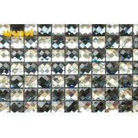 Wholesale Custom Home Art Glitter Mirror Mosaic Tiles Anti - Moisture Glass Tile from china suppliers