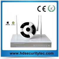 China (5.0 GHZ) H-264-4 CHANNEL DVR RECORDER w/4 CH WIRELESS Panoramic SECURITY CAMERAS AND MULTI-RECEIVER on sale
