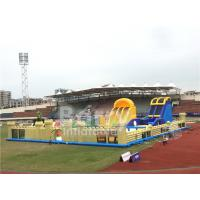 Wholesale Outdoor Commercial Inflatable Toddler Playground , Big Blow Up Bouncy Castle from china suppliers