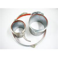 China Galvanized Quick Release Hose Clamps Stainless Steel , 4-23 Inch Adjustable Pipe Clamp on sale