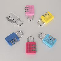 Wholesale Colorful Resettable Combination Padlock 3 Digit Password Suicase Padlock from china suppliers