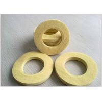 Wholesale Industrial Sealing Felt  Needle Punched Kevlar Ring Used As Seal Ring Pad Yellow from china suppliers