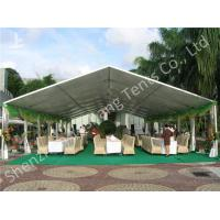 Wholesale 100 Seater Temporary Outdoor Party Canopy Tent Open Gable Sunshade Construction from china suppliers
