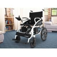 Wholesale Shock Absorbing Electric Folding Wheelchair For Travelling / Home / Hospital from china suppliers