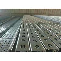 Wholesale Photovoltaic Solar Stent Solar Panel Mounting Brackets , Pipe Standard Metal Profiles from china suppliers