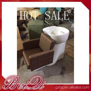 China Luxury shampoo bowl chairs hair washing massage shampoo chair salon furniture china on sale