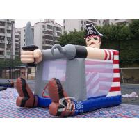 Commercial grade small indoor kids pirate inflatable bouncy castle for outdoor parties