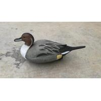 blow moulding standard pintail floatie hunting decoy with realistic painting schemes