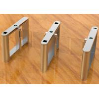 Quality Fast Speed Gate / Intelligent Swing Gate Turnstile With Servo Motor Control for sale