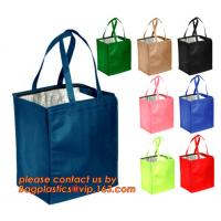 Wholesale Top quality designer polyester insulated cooler lunch bag, wholesale cheap lunch cooler bag,promotional cooler bag from china suppliers