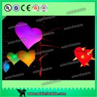 Wholesale led giant inflatable heart for decoration,Event Party Hanging Decoration Inflatable from china suppliers