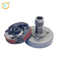 100cc Motorcycle Dual Clutch Assembly / Steel Material Manual Clutch Assembly for sale
