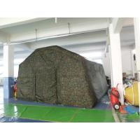 Wholesale Outdoor Camping Inflatable Tent , Inflatable Military Tent For Camping from china suppliers