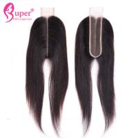"""Wholesale 22"""" Virgin Hair Closures , Lace Closure 2x6 Bleached Knots Hair Weave from china suppliers"""