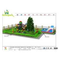 Wholesale Parks Indoor Adventure Playground With Trampoline / Swing Obstacle Climbing from china suppliers