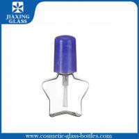 China 10ml Clear Nail Polish Remover Bottle With Flip Off Cap Eco - Friendly on sale