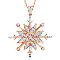 Wholesale Snowflake Fashion Jewelry Pendant from china suppliers