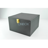 Wholesale Customized Big Case In Fine PU With Metal Lock For Cable Wires from china suppliers