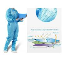 Wholesale Antivirus Disposable Medical Protective Clothing , Medical Protective Coverall from china suppliers