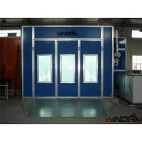 Environmental Protect Side Draft Paint Booth With 4kw Exhaust Fan