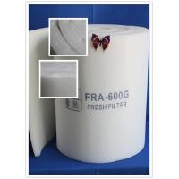 Wholesale EN779 F5 Paint Booth Ceiling Filter Rolls / Air Filter Roll Material from china suppliers