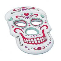 China Customized Sugar Skull Inflatable Swimming Pool Lounge Float on sale