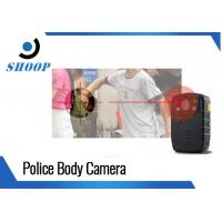 Quality Lightweight Police Body Worn Camera With Night Vision 1296P GPS for sale