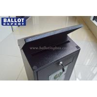 Quality Election Campaign Metal Ballot Box Durable For All Voters Waterproof for sale