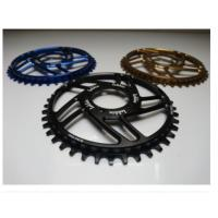 Buy cheap 7075-T6 Aluminum Color Anodized Race Face 104mm Single Chain Ring 4mm Plate Thickness from wholesalers