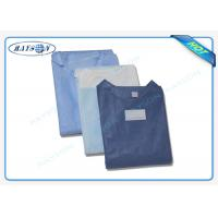 Wholesale 100% PP , SMS Non Woven Medical Fabric Sterile Disposable Surgical Gown Sauna Dress from china suppliers