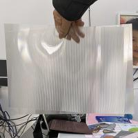 Wholesale 2021Hot sale 3D lenticular sheet clear PET Lenticular 75 lpi lens sheet 3D flip lenticular lens sheet from china suppliers