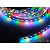 WS2811 30 LEDs/M 60 LEDs/M Addressable LED Strip , 5050 IC High Density LED Tape Light for sale