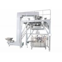 Wholesale PLC Operated Food Packing Machine , Fully Automated Doypack Packing Machine For Stand Up Pouch Bag With Zipper from china suppliers