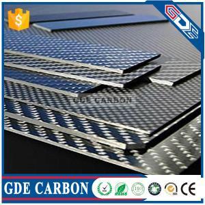 Buy cheap GDE 3K Matte Carbon Fiber Veneer/Sheet/Panel from wholesalers