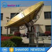 Wholesale High quality 4.5m full motion Rx/Tx transmit satellite communication antenna from china suppliers
