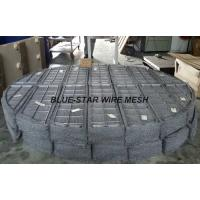 Wholesale Duplex Stainless Steel Filter Wire Mesh Demister Pads / Coalescer 300 mm - 6000 mm from china suppliers