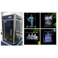 Wholesale Mini 3D Subsurface Laser Engraving Machine , Motion Controlled 3D Laser Engraving System from china suppliers