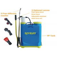 Wholesale Agricultural manual Battery Operated Knapsack Sprayer16L , knapsack pressure sprayer from china suppliers