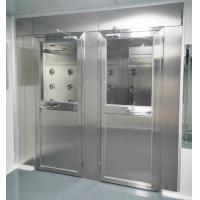China Air Shower for Persons and materials with 4 doors controlled by PLC and touch screen for sale