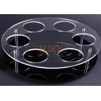 Wholesale Black Acrylic Jewelry Stand Jewelry Display Rack With Laser Cutting from china suppliers