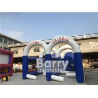 Buy cheap Sporting Obstacle Soccer Dribble Inflatable Football Game Customized Size from wholesalers