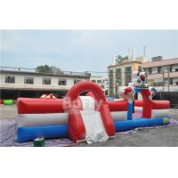 Buy cheap Custom Inflatable Toddler Playground , Special Inflatable Fun City Boxing Bull Theme from wholesalers