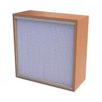 Wholesale High Mechanicla Strength Air Purification Filters Box Type With Wooden Frame from china suppliers