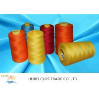 Buy cheap Good Fastness Spun Poly Thread 5000 Meters , Multi Color Spun Polyester Sewing from wholesalers