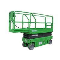 China Electric Self-propelled Scissor Lift 6 Meters Lifting Height Loading Capacity 230Kg for sale