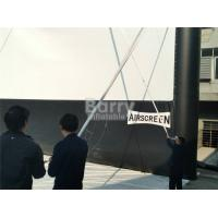 Quality Cloth Inflatable Movie Screen For Outdoor Event , Inflatable Projector Screen for sale