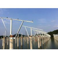 Wholesale Precast Pile Fishing Light Complementary Solar Pv Mounting Systems Customized from china suppliers