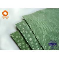 Quality CE Approval Non Slip Underlayment Felts PVC Coated 4m Width With Black / White Dots for sale